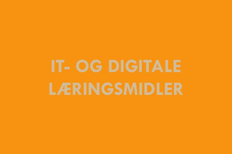 it digitale læringsmidler