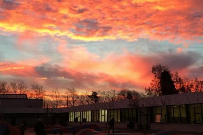 Dyvekeskolen i morgengry